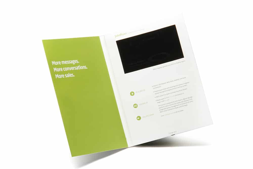 Engaging Video Brochures & LCD Business Cards | Vidioh