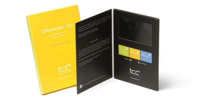 TCC Video Brochure with Logoed Presentation Box