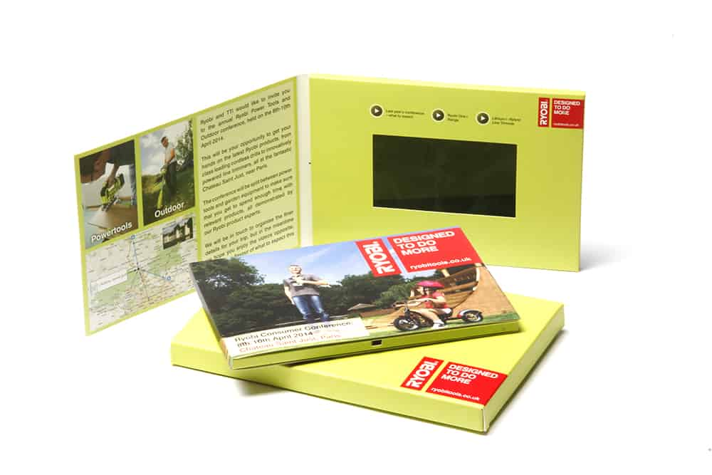 Video Brochure with Logoed Presentation Box