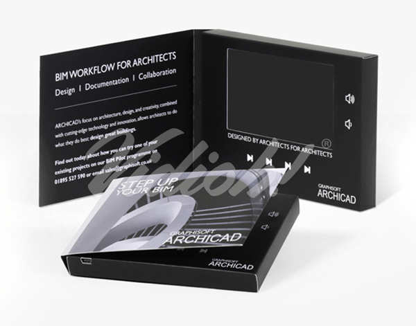4.0 HD 133x95mm Softback Video Brochure - Graphisoft