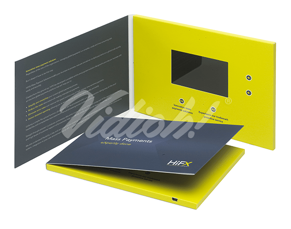 4.0 HD A5 Landscape Softback Video Brochure - HiFx