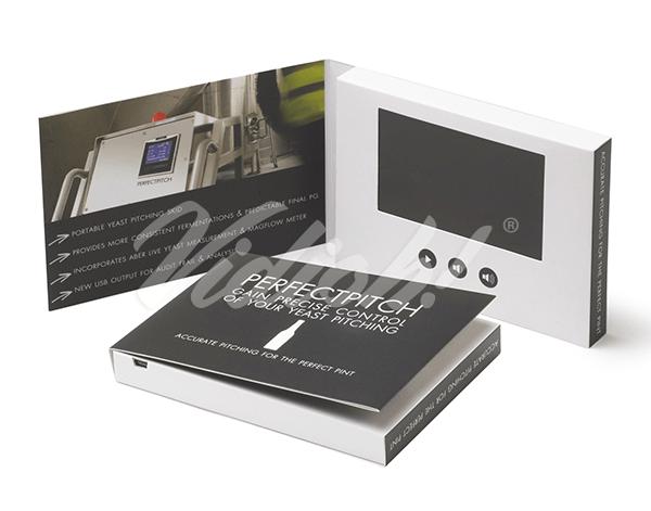 4.0 HD 133x95mm Softback Video Brochure - Perfect Pitch