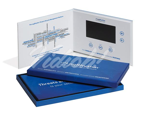 5.0 HD A5 Landscape Hardback Video Book & Hardback Box - Logrhythm