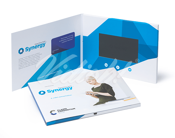 5.0 HD A5 Landscape Softback Video Brochure - Claims Consortium Group - The Oxygen Agency
