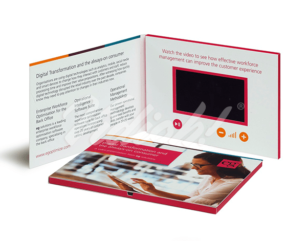 5.0 HD A5 Landscape Softback Video Brochure - EG Solutions