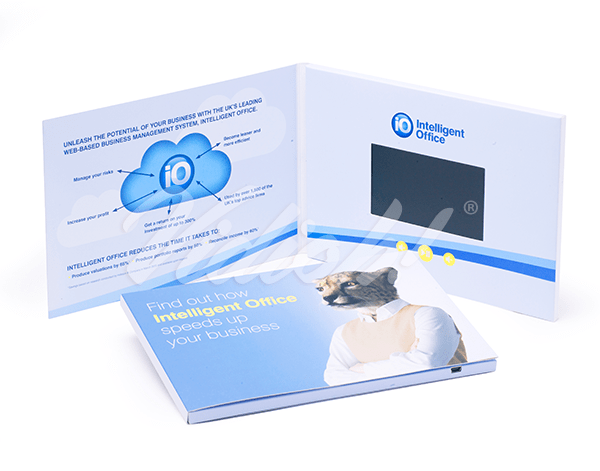 5.0 HD A5 Landscape Softback Video Brochure - Intelliflo