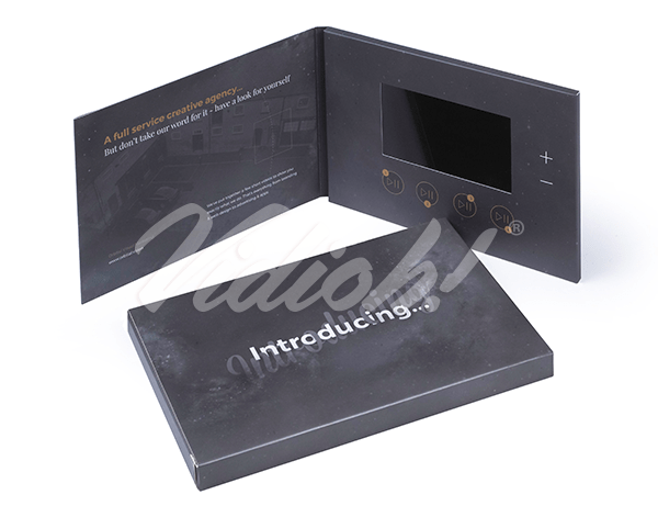 5.0 HD A5 Landscape Softback Video Brochure & Softback Box - Orbital Visual Marketing
