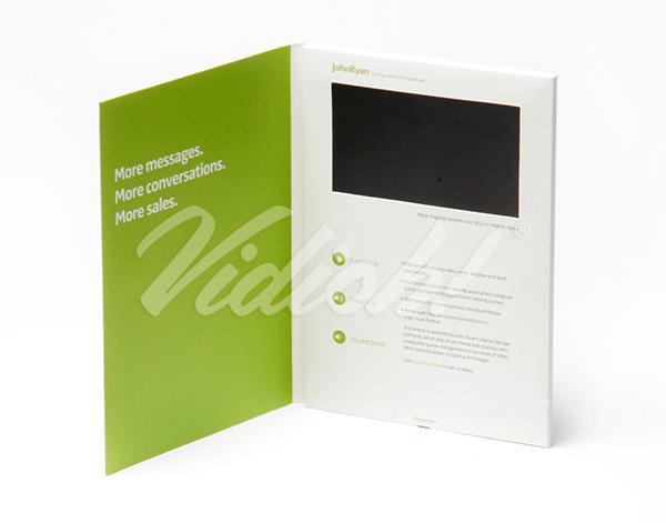 5.0 HD A5 Portrait Softback Video Brochure - John Ryan