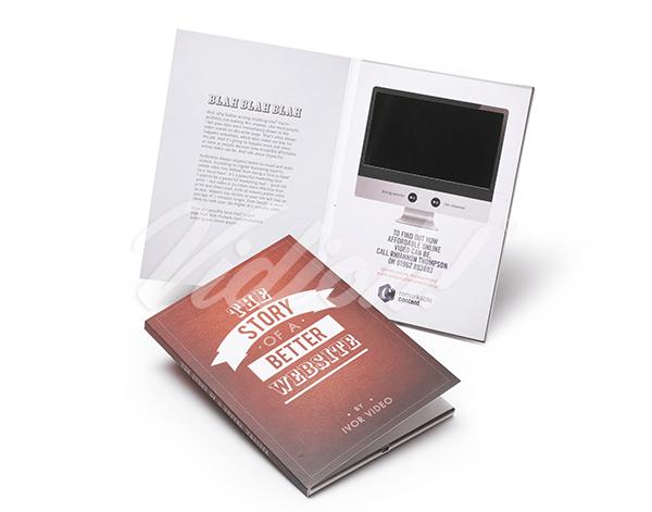 5.0 HD A5 Portrait Softback Video Brochure - Remarkable