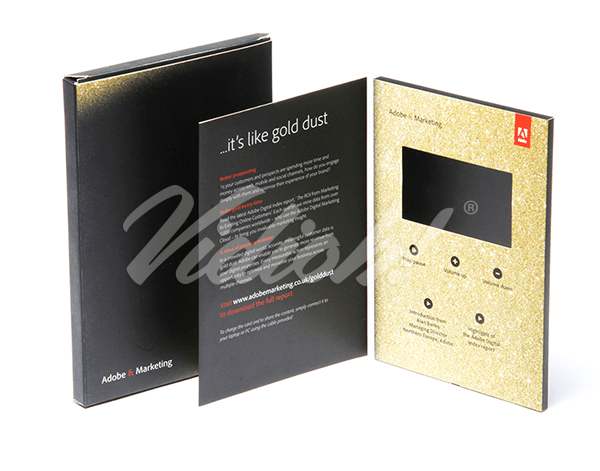5.0 HD A5 Portrait Softback Video Brochure & Softback Box - Adobe