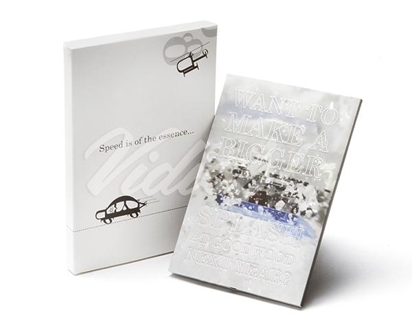 5.0 HD A5 Portrait Softback Video Brochure & Softback Box -