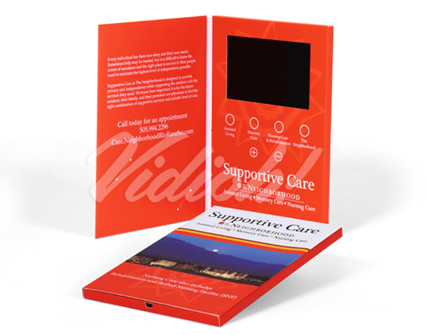 5.0 HD A5 Portrait Softback Video Brochure - The Neigbourhood