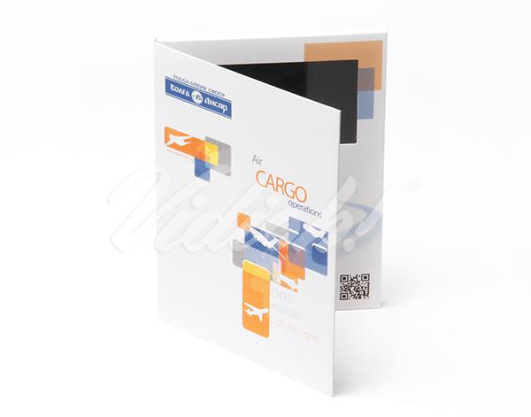 5.0 HD A5 Portrait Softback Video Brochure - Volga Dnepr Airlines