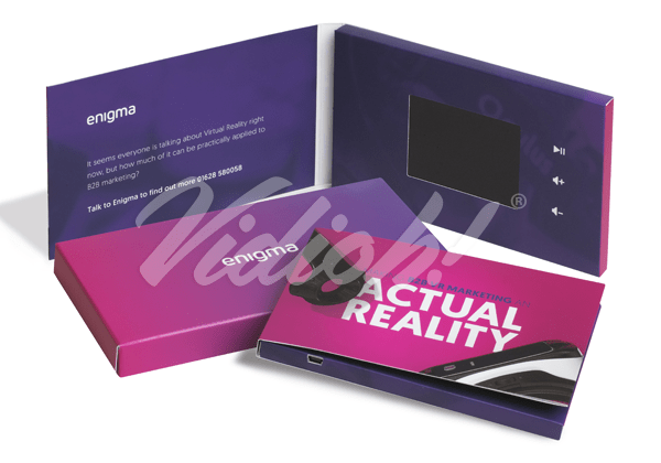 LCD Video Brochure Card