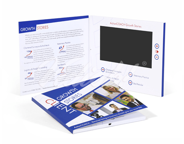7.0 HD 210x170mm Softback Video Brochure - ActionCOACH