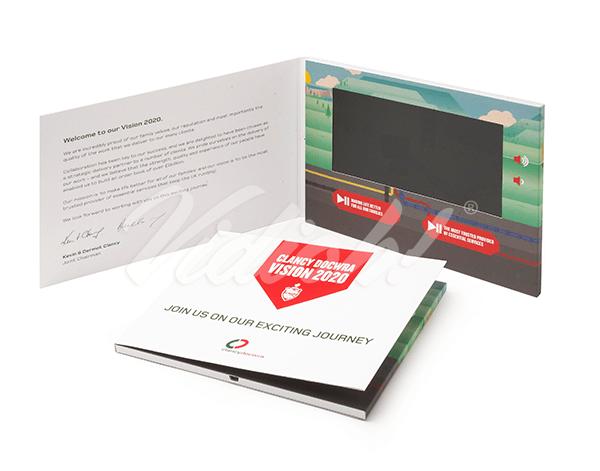 7.0 HD 210x170mm Softback Video Brochure - Clancy Docwra