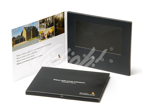 7.0 HD 210x170mm Softback Video Brochure - David Wilson Homes