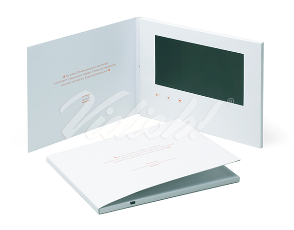 7.0 HD 210x170mm Softback Video Brochure - DGR Marcomms