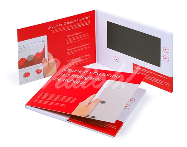 7.0 HD 210x170mm Softback Video Brochure - MailBird