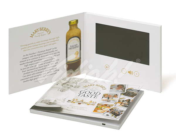7.0 HD 210x170mm Softback Video Brochure - Mary Berry's Foods