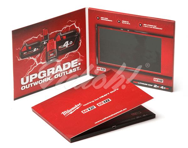 7.0 HD 210x170mm Softback Video Brochure - Milawukee