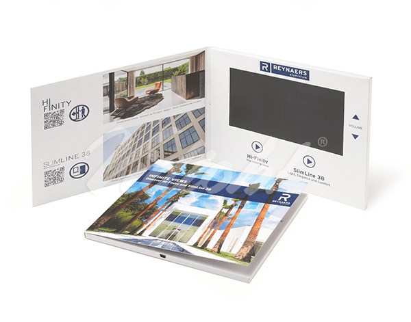 7.0 HD 210x170mm Softback Video Brochure - Reynaers