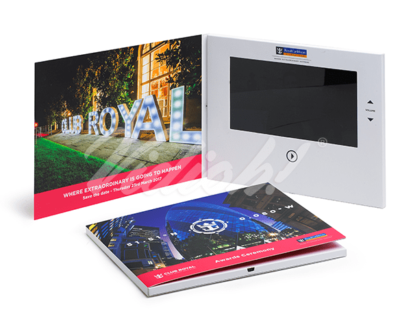 7.0 HD 210x170mm Softback Video Brochure - Royal Caribbean