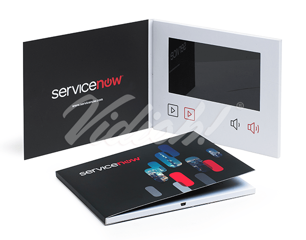 7.0 HD 210x170mm Softback Video Brochure - Service Now