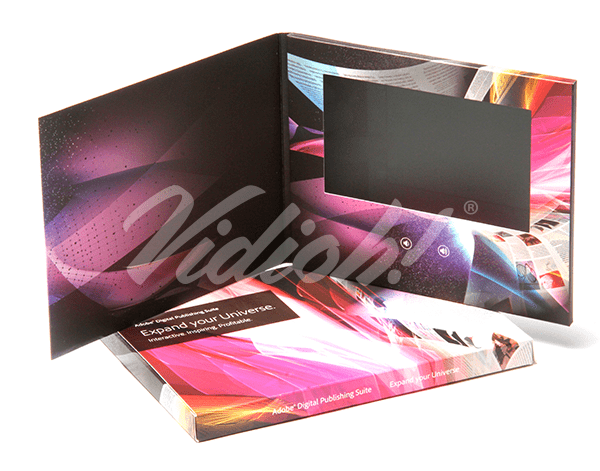 7.0 HD 210x170mm Softback Video Brochure & Softback Box - Adobe