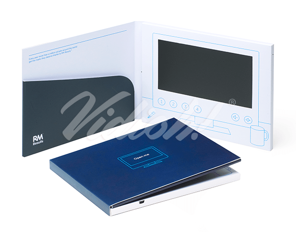 7.0 HD 210x170mm Softback Video Brochure with Pocket - RM Education