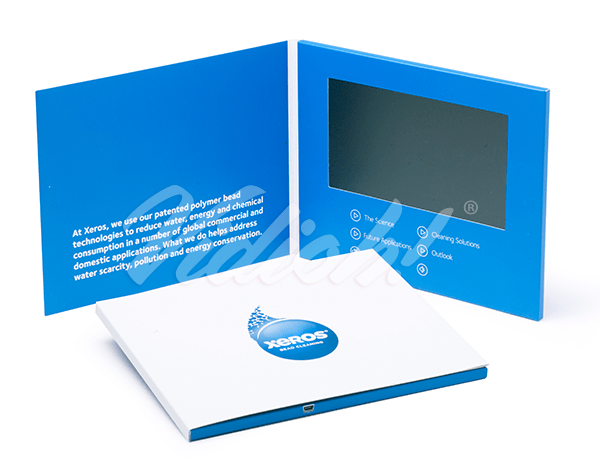 7.0 HD 210x170mm Softback Video Brochure - Xeros