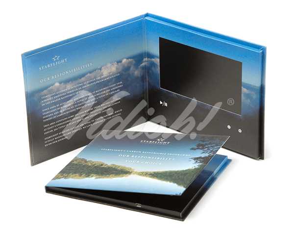 7.0 HD 215.5x180mm Hardback Video Book - Star Flight