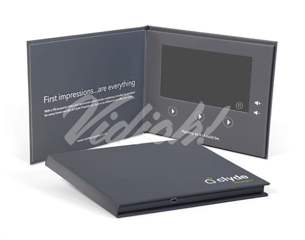 7.0 HD 215x180mm Hardback Video Book- Clyde Property