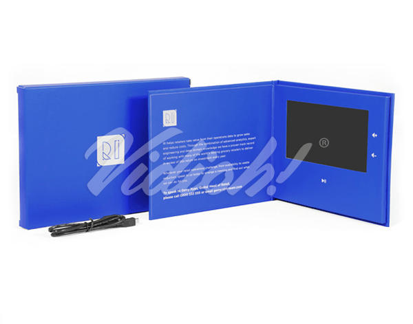 7.0 HD 215x180mm Hardback Video Book & Softback Box - RI
