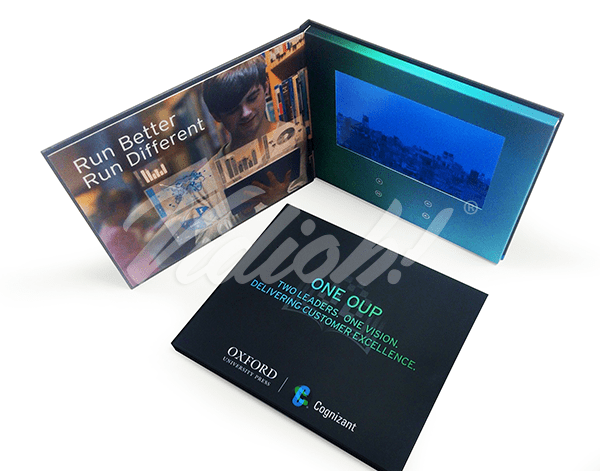 7.0 HD Express 215.5x180mm Hardback Video Book - Cognizant