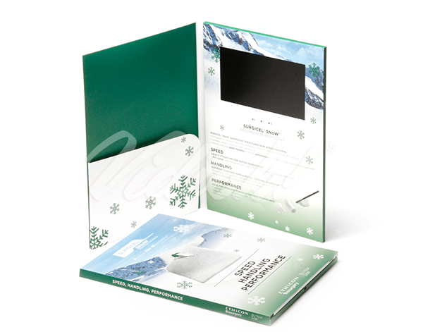 7.0 HD Softback Video Brochure with Pocket - Ethicon
