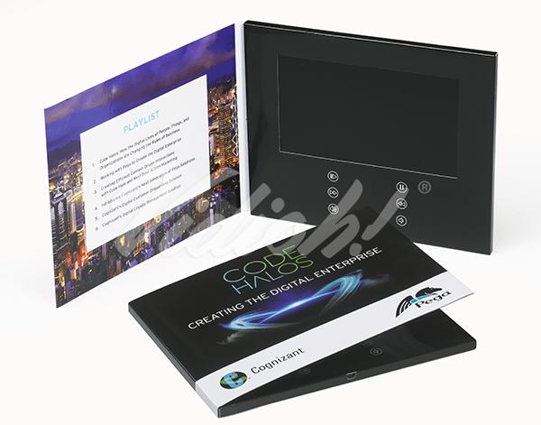 """7.0"""" Video Brochure"""