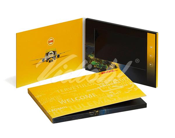 7 inch Video Brochure