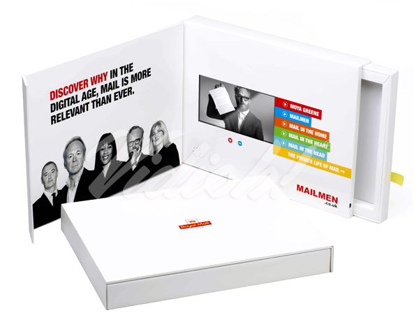 Video Presentation Box for the Royal Mail