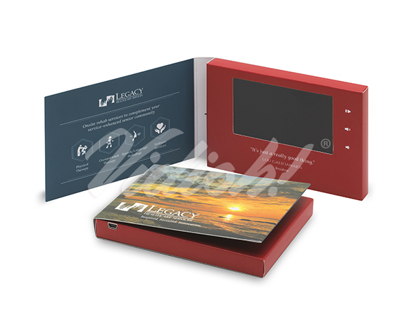 4 inch video brochure