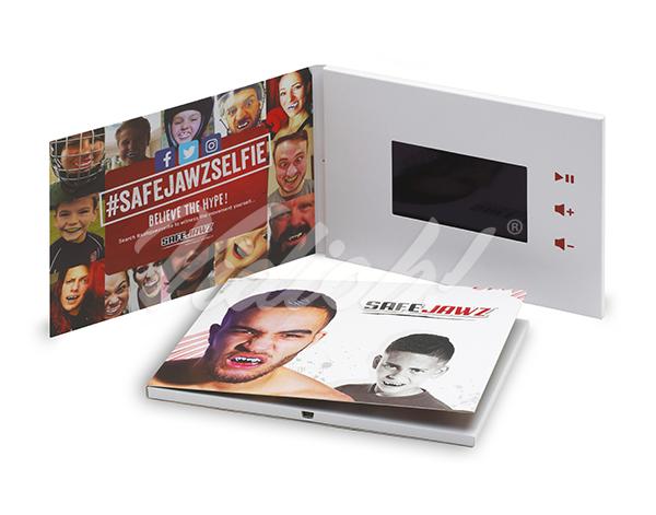 4.75 inch video brochure