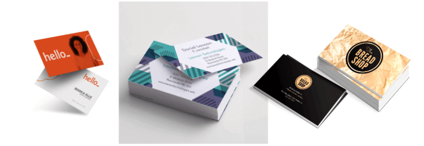 business card example final