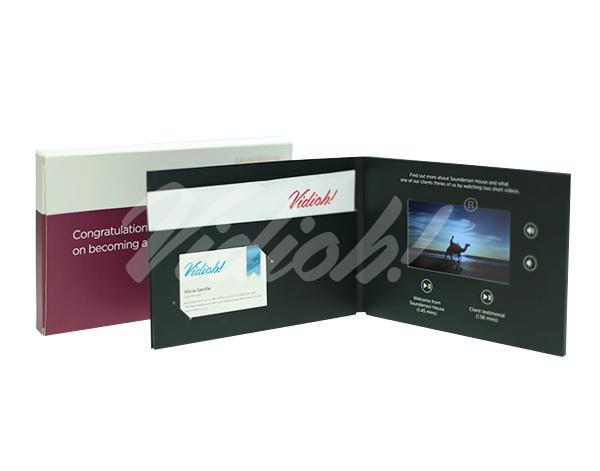 5 inch video brochure