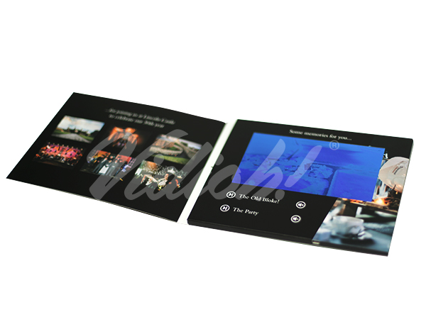 softback video brochure