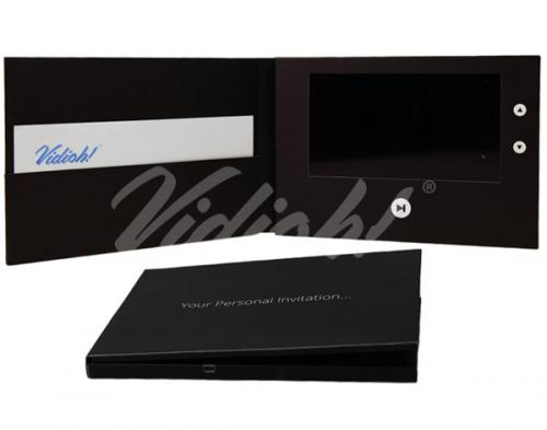 7.0 HD A5 Landscape Softback Video Card with pocket - Personal Invitation