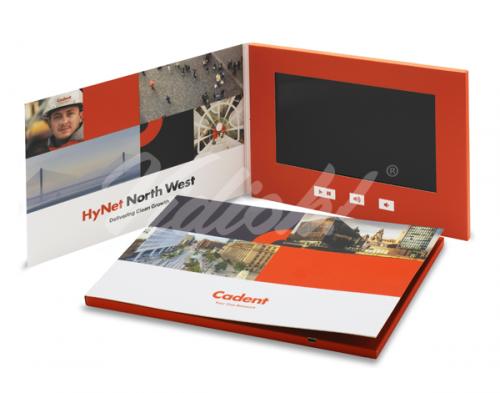 10 HD A4 Landscape Softback Video Brochure - Cadent